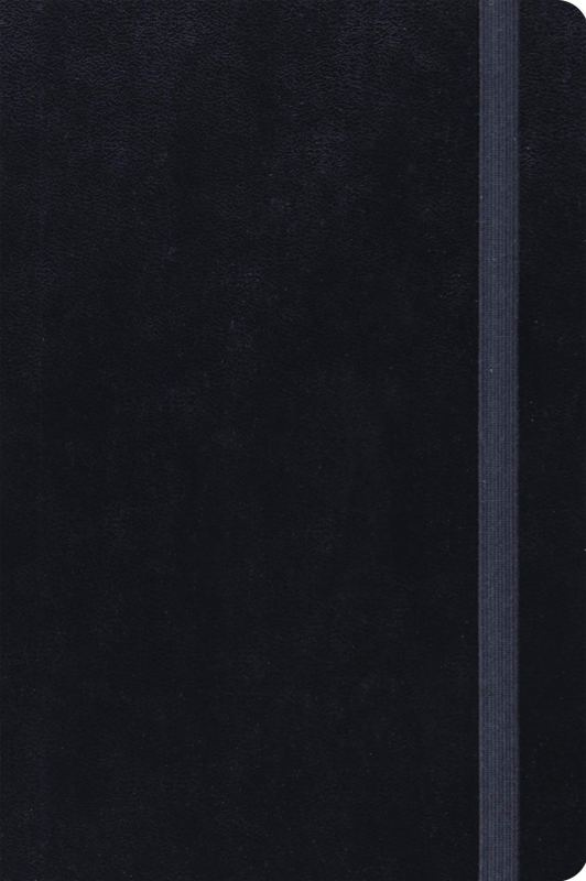 Journaling New Testament: English Standard Version, Black With Strap, Inductive Edition