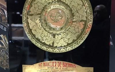 Le BOUCLIER DE BRENNUS FAIT HALTE AU SALON DE L'AUTOMOBILE 2018