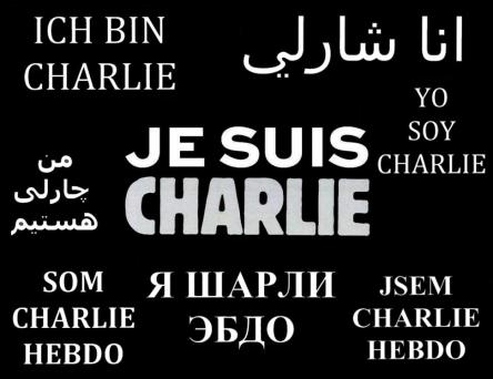 I am Charlie, because I am for freedom of speech!
