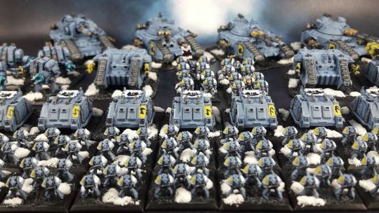 Space Wolves Epic Armageddon – Armies on Parade