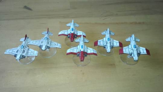 3D printed 6mm army: Space Marines. Aeronaves