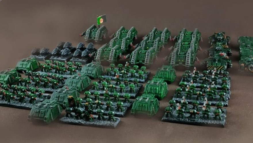 Space Marine Dark Angels – Armies on Parade