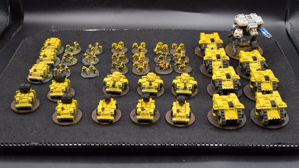 epic space marines imperial fist M.E.G.A