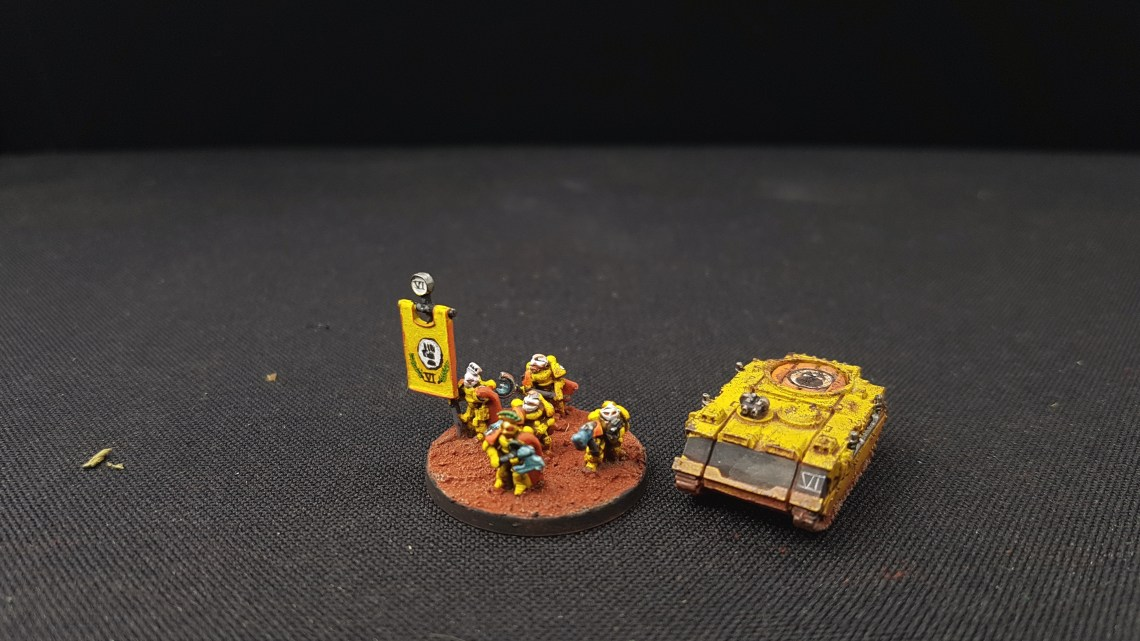 Space Marine Imperial Fist – Armies on Parade