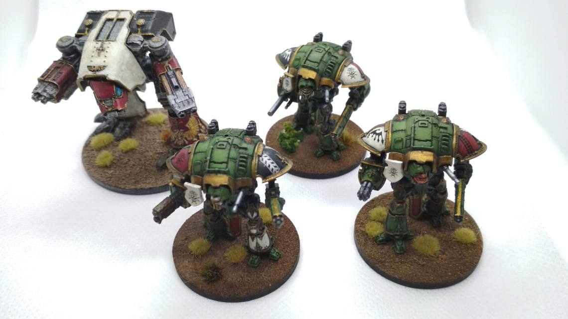 Imperial knights 6mm