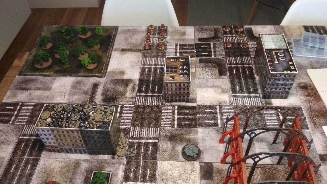 Informe de Batalla: Orkos vs Caballeros imperiales