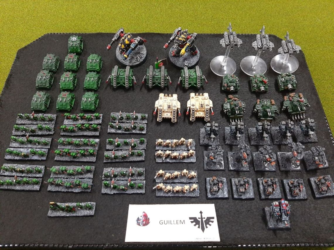epic 40k dark angels Mallorca Epic Gold Assault 03