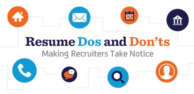 Resume Infographic #03: Resume Dos and Don'ts