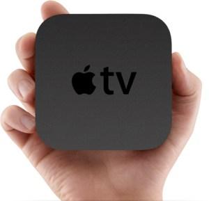 Apple TV In Hand