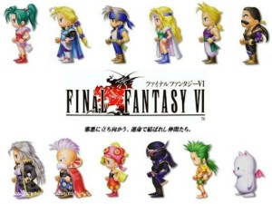 Final Fantasy VI Title & Characters