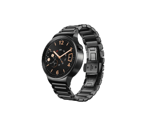 Huawei Watch - Black Stainless Steel