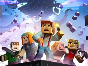 Minecraft: Story Mode Splash Screen