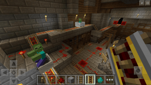 Minecraft Pocket Edition: Redstone