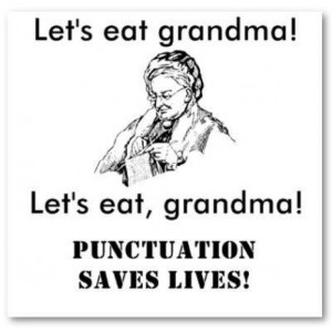 Punctuation - Let's Eat Grandma!