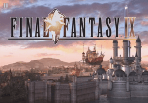 Final Fantasy 9 Title Screen