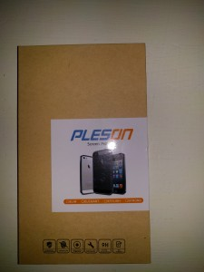 Pleson Tempered Glass Screen Protector - Packaging