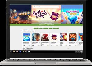Google Play Store on Chrome OS