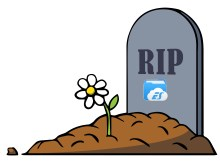ES File Explorer Tombstone