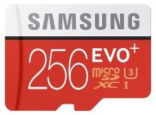 Samsung EVO 256 GB MicroSD Card