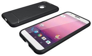 TUDIA Ultra Slim Full-Matte Lightweight ARCH TPU Bumper Shock Absorption Case for Google Pixel