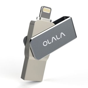 OLALA 64GB USB 3.0 Flash Drive Stick with Lightning Connector for iPhone iPad