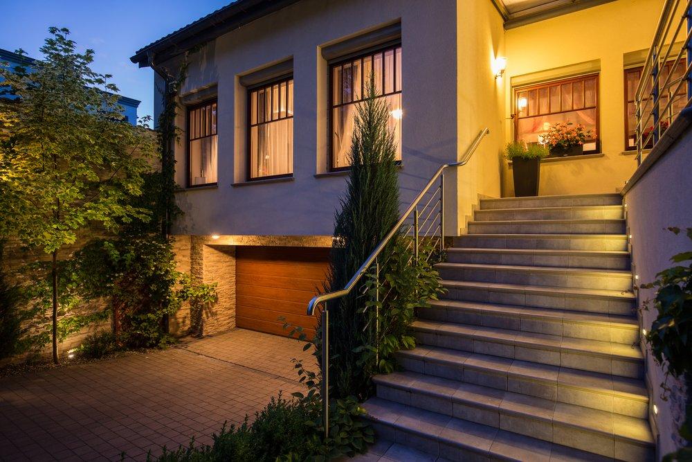 exterior lighting ideas tips