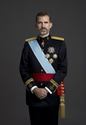 Rey Felipe VI de España.