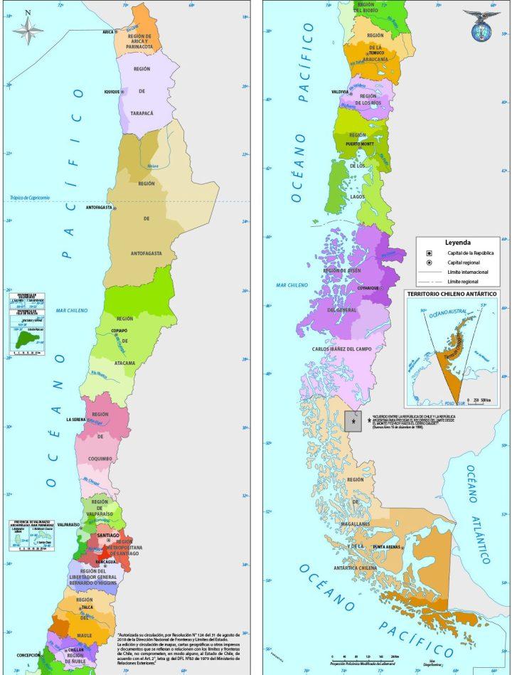 División política administrativa de Chile.