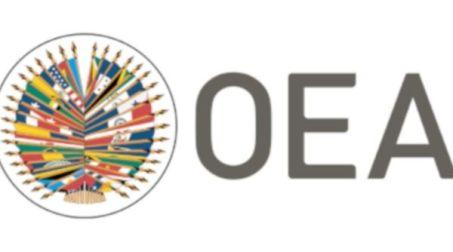 Escudo que representa a la Organización de Estados Americanos.