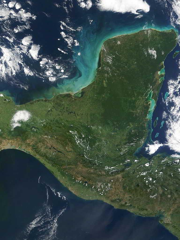 Peninsula de Yucatan Mexico