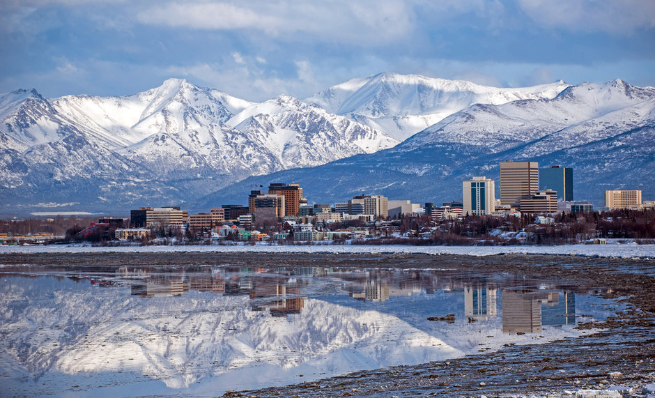 Anchorange Alaska Ciudad
