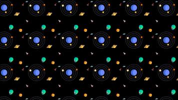 Espacio y Planetas Fondo para Celular