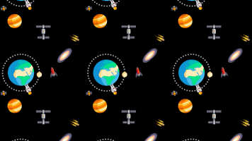 Espacio y Planetas Fondo para Celular 4
