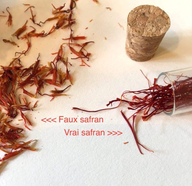 Safran et carthame