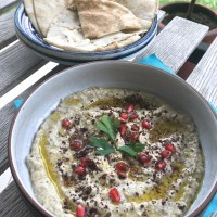 Best Smoked Aubergine Dip - Baba Ganoush