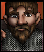 Clodin the Dwarf Fighter from Epic Fail