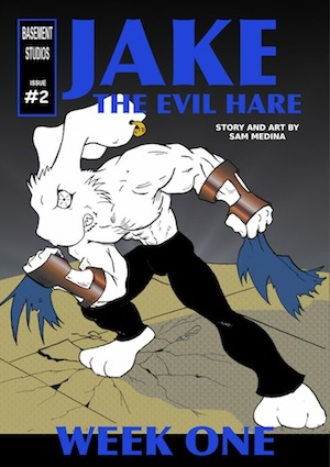 Jake the Evil Hare comic book #2