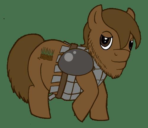 My Little Pony Clodin Brony MLP FiM Fanart