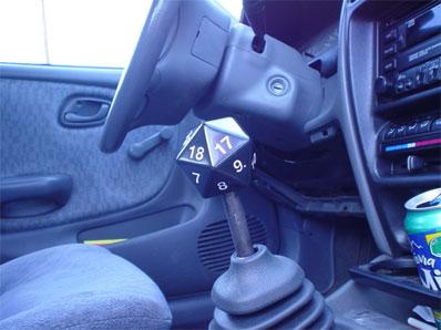 D20 gearstick