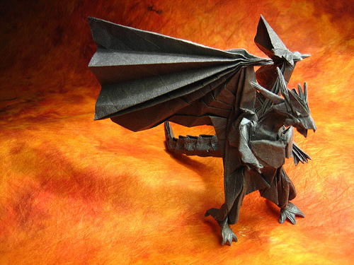 This Is Bahamut Out Of Final Fantasy VII By Satoshi Kamiya