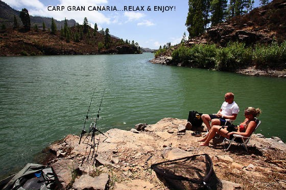 carp fishing at gran canaria