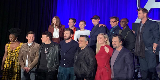 Marvel Studios Avengers Endgame - Global Press Conference - Celebrity Interviews