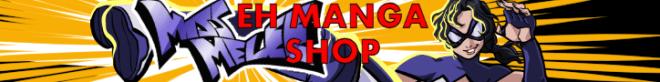 CGI Anime Short Film Instock Manga @ EH Shop