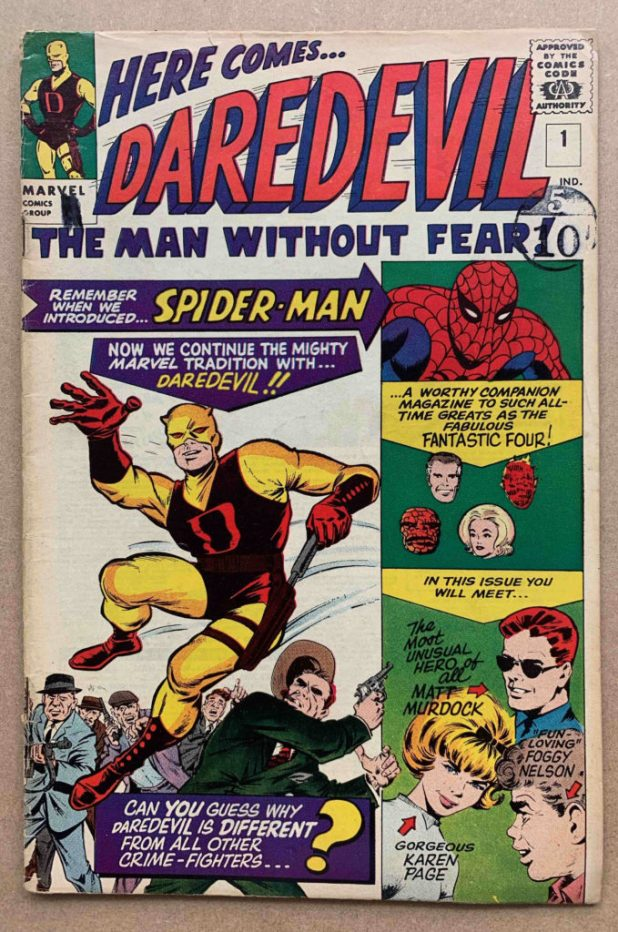 Daredevil 1 Excalibur Auctions