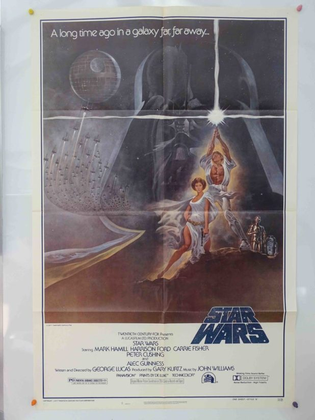 Star Wars Movie Original poster