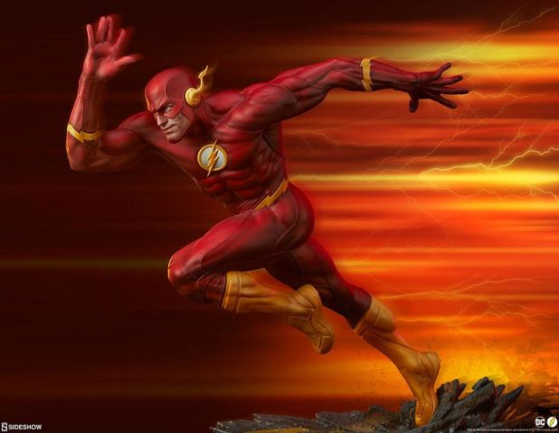 DC Sideshow Collectibles Premium Format The Flash