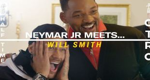 When Neymar Jr Met His Hero Will Smith after 10 Year Wait ...?
