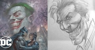 Draw Joker w/ Comic Book Cover Artist - Lucio Parrillo