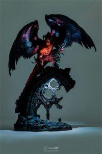Tekken Statue 1/4 Devil Jin w/ LED Lights Feature by Purearts