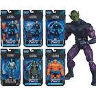 """Marvel Legends Fantastic Four 6"""" Action Figures Complete Set Super Skrull BAF"""